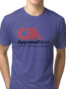CIA Approved News Tri-blend T-Shirt