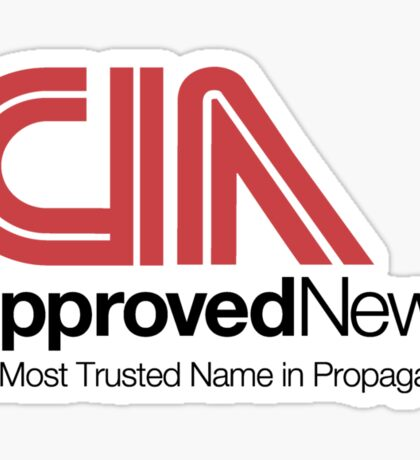 CIA Approved News Sticker
