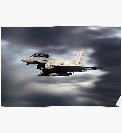 RAF Typhoon Pass Poster