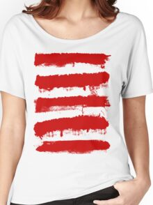 Rebel Stripes Women's Relaxed Fit T-Shirt