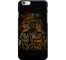 Great Men Are Forged In Fire iPhone Case/Skin