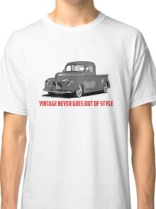 Vintage Style Classic T-Shirt