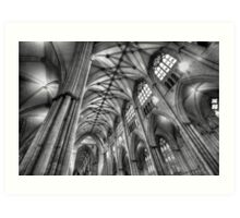 York Minster Interior Art Print