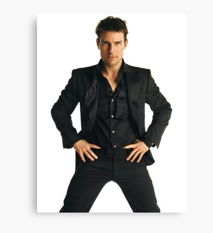 Tom Cruise Canvas Print