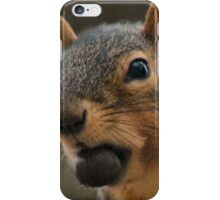 I see a bigger nut...She's got a Canon! iPhone Case/Skin
