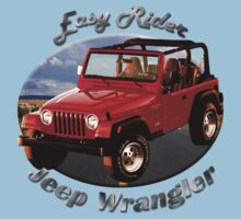 Jeep Wrangler Easy Rider One Piece - Short Sleeve