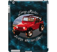 Jeep Wrangler Easy Rider iPad Case/Skin