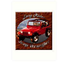 Jeep Wrangler Easy Rider Art Print