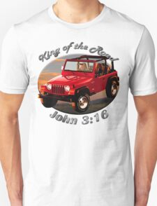 Jeep Wrangler King Of The Road T-Shirt