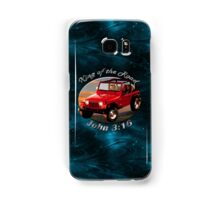 Jeep Wrangler King Of The Road Samsung Galaxy Case/Skin