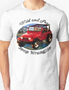 Jeep Wrangler Wild and Free T-Shirt