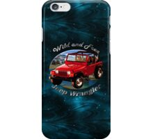 Jeep Wrangler Wild and Free iPhone Case/Skin