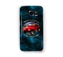 Jeep Wrangler Wild and Free Samsung Galaxy Case/Skin