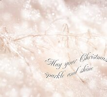 Merry Christmas Card - Crystal Wonderland by MotherNature