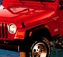 Jeep Wrangler Anytime Baby Sticker