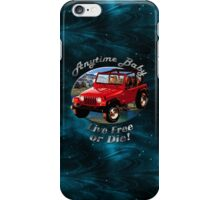 Jeep Wrangler Anytime Baby iPhone Case/Skin