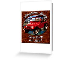 Jeep Wrangler Anytime Baby Greeting Card