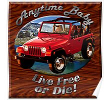 Jeep Wrangler Anytime Baby Poster