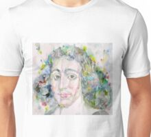 BARUCH SPINOZA - watercolor portrait Unisex T-Shirt