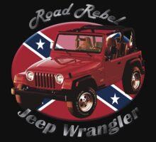 Jeep Wrangler Road Rebel One Piece - Short Sleeve