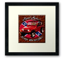 Jeep Wrangler Road Rebel Framed Print
