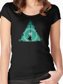 Hallowed Ground Women's Fitted Scoop T-Shirt