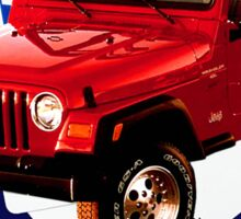 Jeep Wrangler Drive It Like You Stole It Sticker