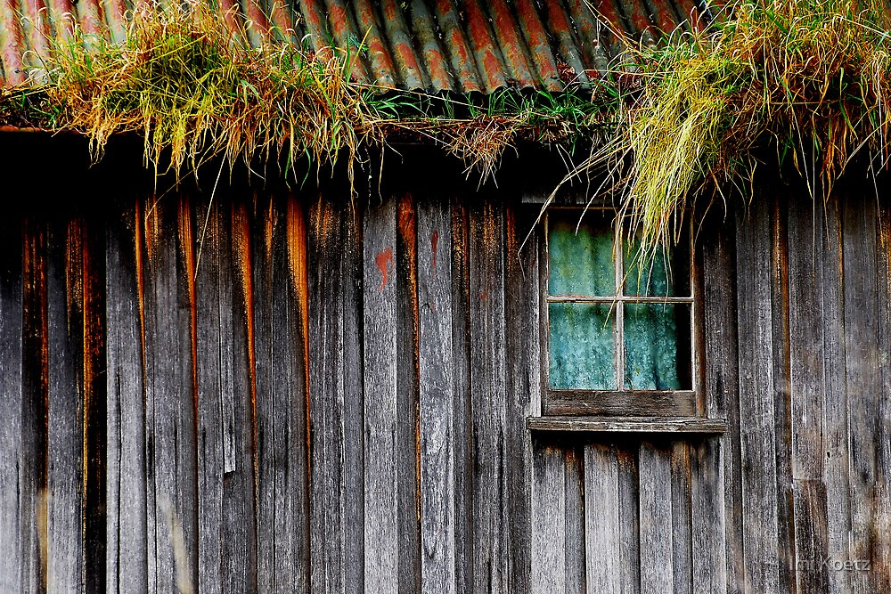 Old Cottage in Cygnet, Tasmania by Imi Koetz