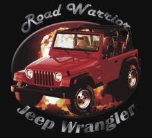 Jeep Wrangler Road Warrior Kids Tee