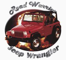 Jeep Wrangler Road Warrior by hotcarshirts