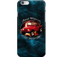 Jeep Wrangler Road Warrior iPhone Case/Skin
