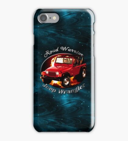 Jeep Wrangler Road Warrior iPhone Case/Skin