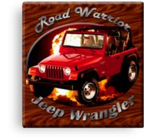 Jeep Wrangler Road Warrior Canvas Print