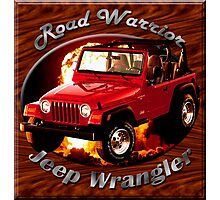Jeep Wrangler Road Warrior Photographic Print