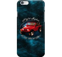 Jeep Wrangler Night Rider iPhone Case/Skin