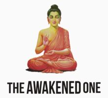 Buddha The Awakened One (Black) by KidDex