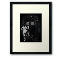 Dr Whoibble Framed Print