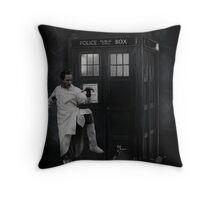 Dr Whoibble Throw Pillow