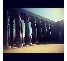 Luxor Temple, Egypt Photographic Print