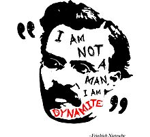 Nietzsche Dynamite Photographic Print