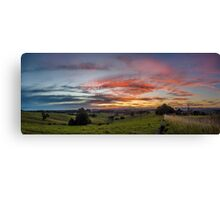 Coorabell Sunset Canvas Print