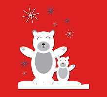 christmas polar bear Unisex T-Shirt