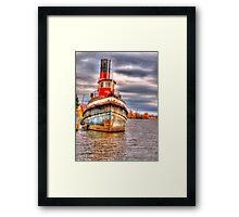 Thunder Bay Harbor Framed Print