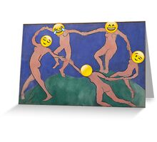 Dance - Matisse Greeting Card