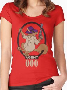 Secret Squirrel Women's Fitted Scoop T-Shirt