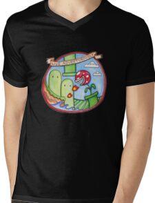 Live Adventurously Mens V-Neck T-Shirt