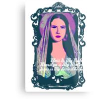 Lana Del Rey - Body Electric Tropico Metal Print