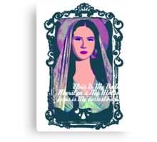 Lana Del Rey - Body Electric Tropico Canvas Print