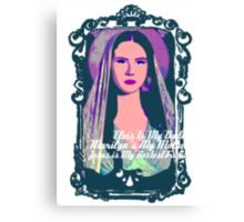 Lana Del Rey - Body Electric Tropico Canvas Print