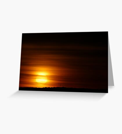 Summer Sunrise  Greeting Card
